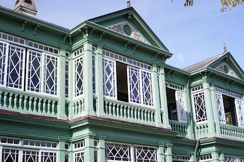 映画「鋼の錬金術」でも使用された国指定重要文化財『旧ハンター住宅』へ