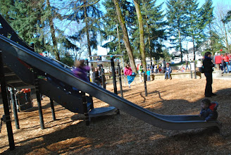 Photo: 2012 egg hunt and park playground and spray - 47