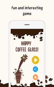 Happy Coffee Glass 1