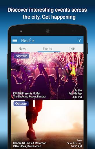 NearFox - Your Locality App
