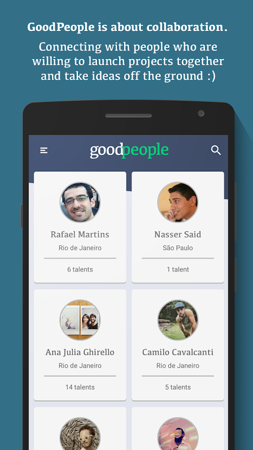 GoodPeople- screenshot