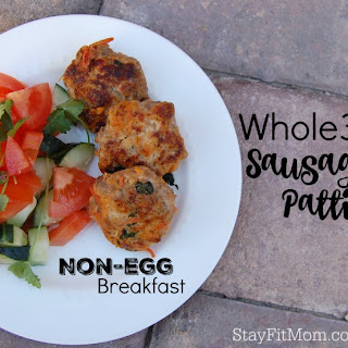 Whole30 Sausage Patties; Whole30 Non-Egg Breakfast