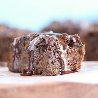 Oat Flour Sweet Potato Brownies.