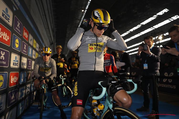 🎥 Wout van Aert duidt zijn trainingspartners in coronatijden aan en blikt terug op ongeval tijdens training