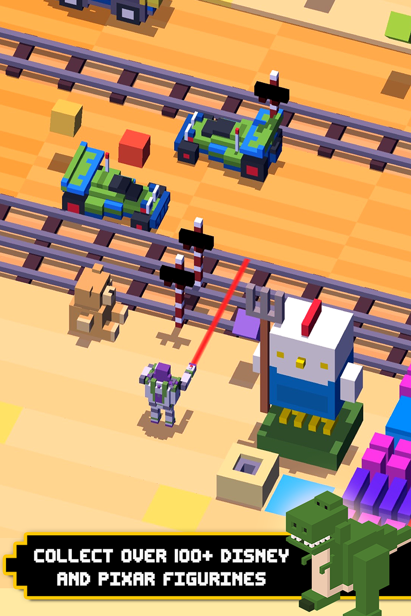 Disney Crossy Road screenshot #1