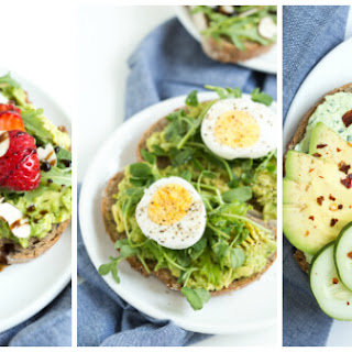 Avocado Toast Three Ways (Each recipe is below)