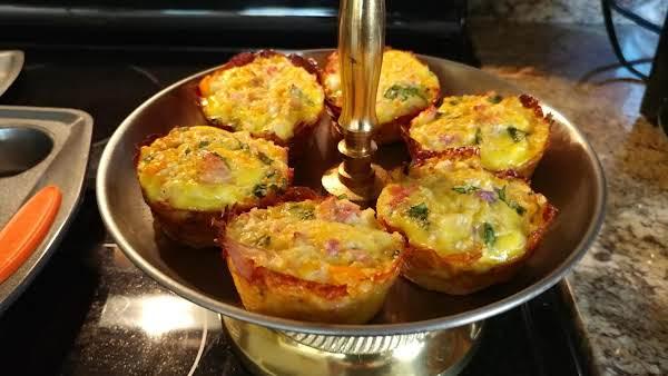 Healthy Breakfast Cauliflower Muffins