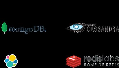 MongoDB, Apache Cassandra, Elastic Cloud, Redis Labs