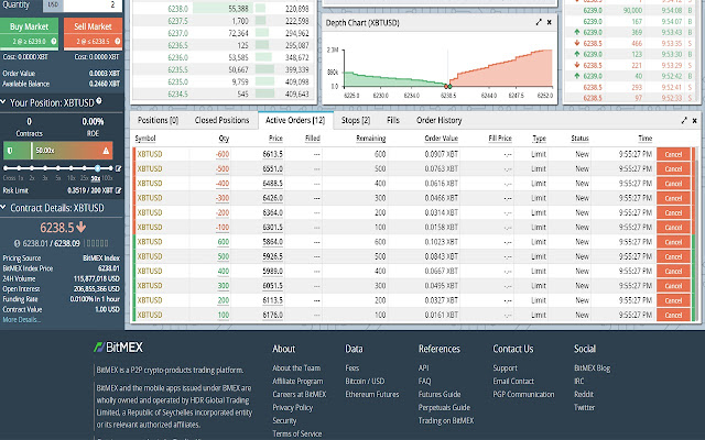 Market Maker 4 BitMex