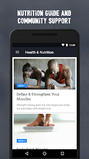 Runtastic Results Training App Screenshot 5