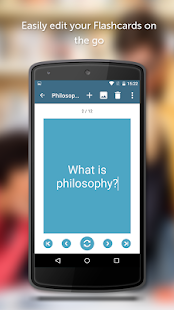 GoConqr Flashcards- screenshot thumbnail