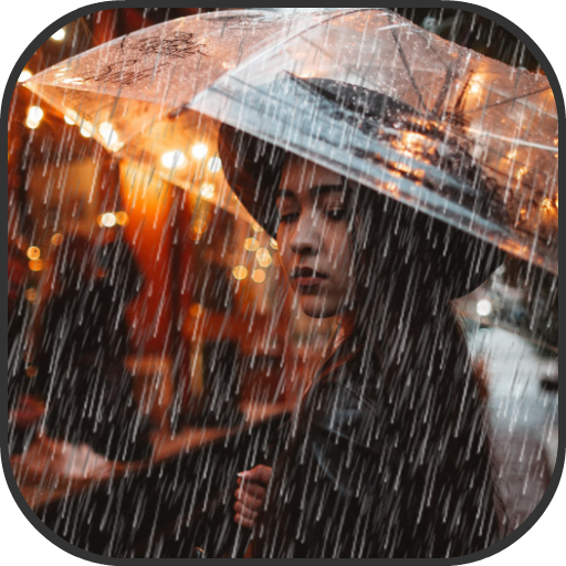 Rain Effect on Photo - Pic Editor and Frames New Icon
