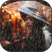 Rain Effect on Photo - Pic Editor and Frames New