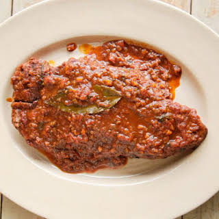 Creamy Crock Pot Swiss Steak.