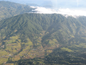 Photo: flight to the Lukla airstrip that was built in 1963 by Sir Edmund Hillary