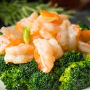 Jumbo Shrimp with Broccoli