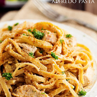 One Pot Cajun Chicken Alfredo Pasta