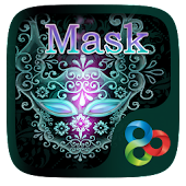 Mask Go Launcher Theme