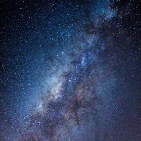 The Milky Way by Steve BB - Landscapes Starscapes ( cloud, milkyway, nightscape, cloudscape, stars, vista, landscape )