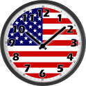 USA Clock icon