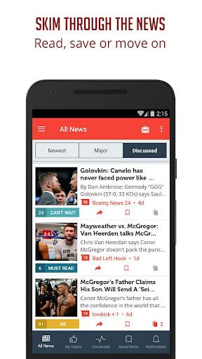 Boxing News - Sportfusion 3.953 screenshots 3
