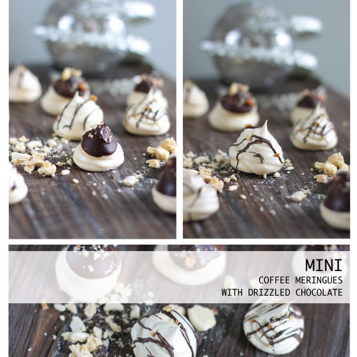 Mini Coffee Meringues