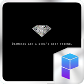 Diamonds Launcher Theme