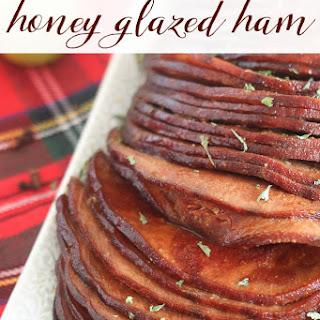 Slow Cooker Honey Glazed Ham.