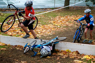 Photo: The stair-to-log run up  created a zone of suffering @mfgcross Woodlawn Park