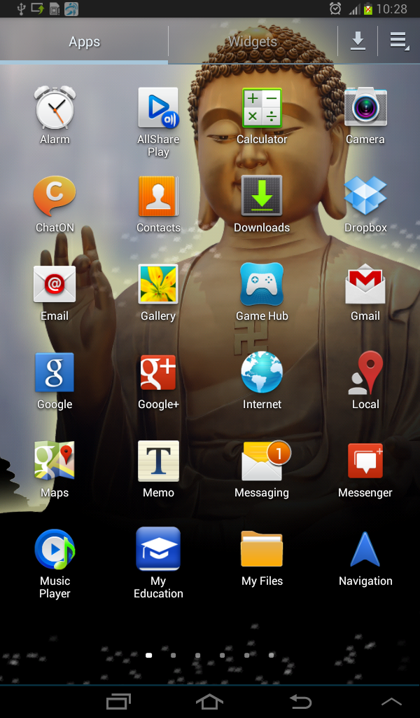 Скриншот Bodhisatva LWP
