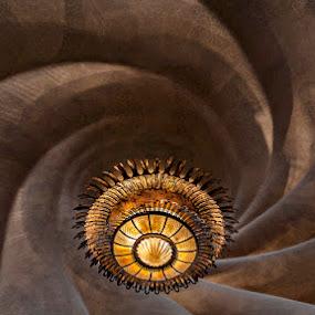 Gaudi Interior Details by Joseph Goh Meng Huat - Buildings & Architecture Architectural Detail ( curve, interior, pwc details, lighting, gaudi, architectural, joseph goh meng huat )