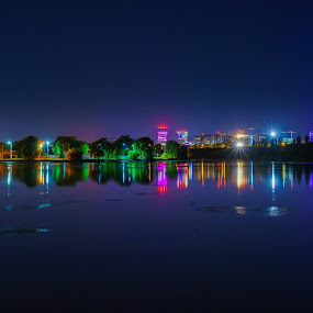 by Adrian Mitu - City,  Street & Park  Night