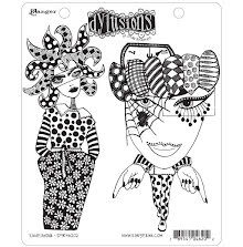 Dylusions Cling Stamps 8.5X7 - Endeavour