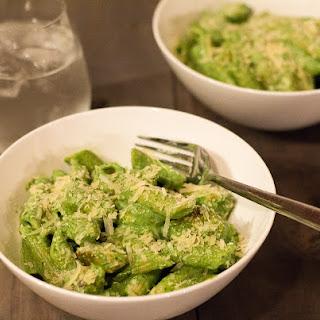 Chicken Penne with Spinach, Ricotta & Basil Pesto Recipe