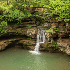 Peace by Donna Sparks - Landscapes Waterscapes ( ohio, nature, waterfall, landscape,  )