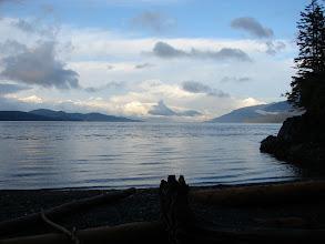 Photo: Evening calm on Johnstone Strait.
