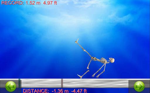 Skeleton Ragdoll Run Challenge