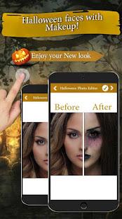 Halloween Photo Frames Editor: Scary Face Makeover