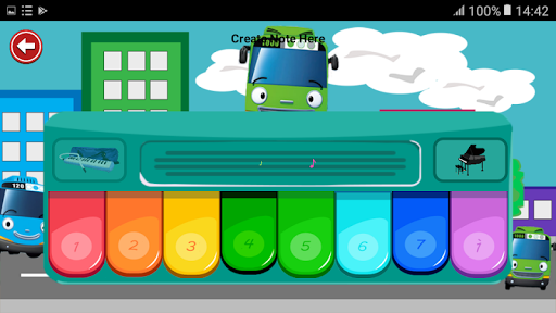 Piano For Kids Bus Tayo 1.0 screenshots 2