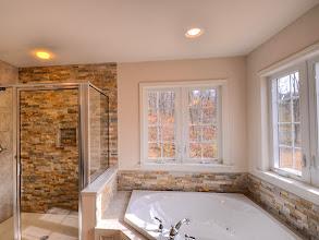 Photo: The master bath in the PRESTON