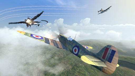 Warplanes: WW2 Dogfight astuce APK MOD capture d'écran 1
