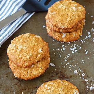 Salted Cardamom Oatmeal Cookies.
