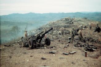 Photo: May 5 photo looking across ridge of 105's. (CG photo)
