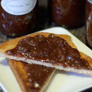 Chocolate Pear Jam.