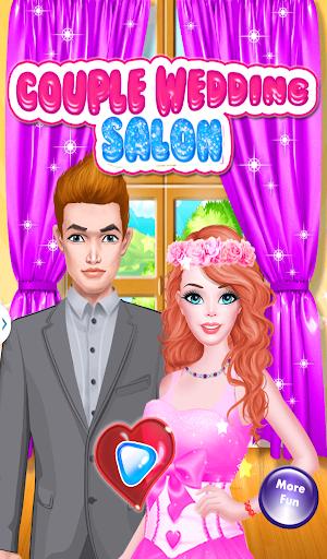 女の子のための結婚式のサロンゲーム