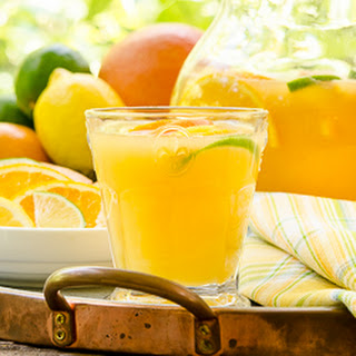 Fresh Citrus Wine Punch