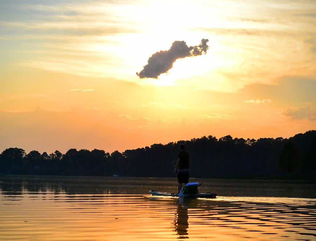 On lake acworth lifetime tamarack kayak and kaku kahuna for Lake acworth fishing