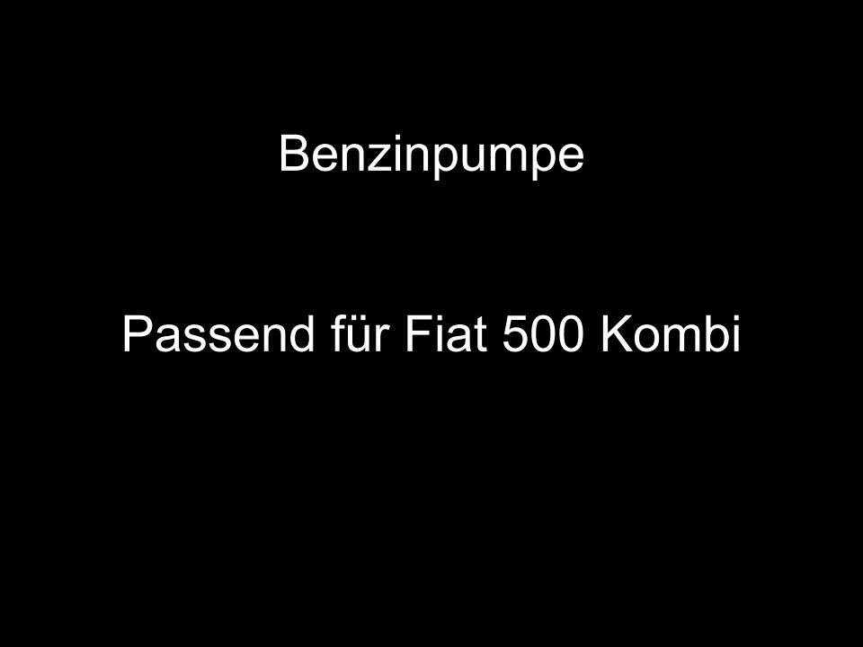 L 126 UMLENKROLLE ZENTRIFUGE PUMPE ÖL FIAT 500 F R