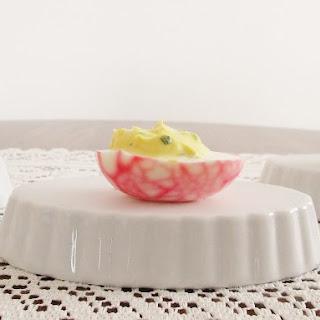 Cracked China Deviled Eggs