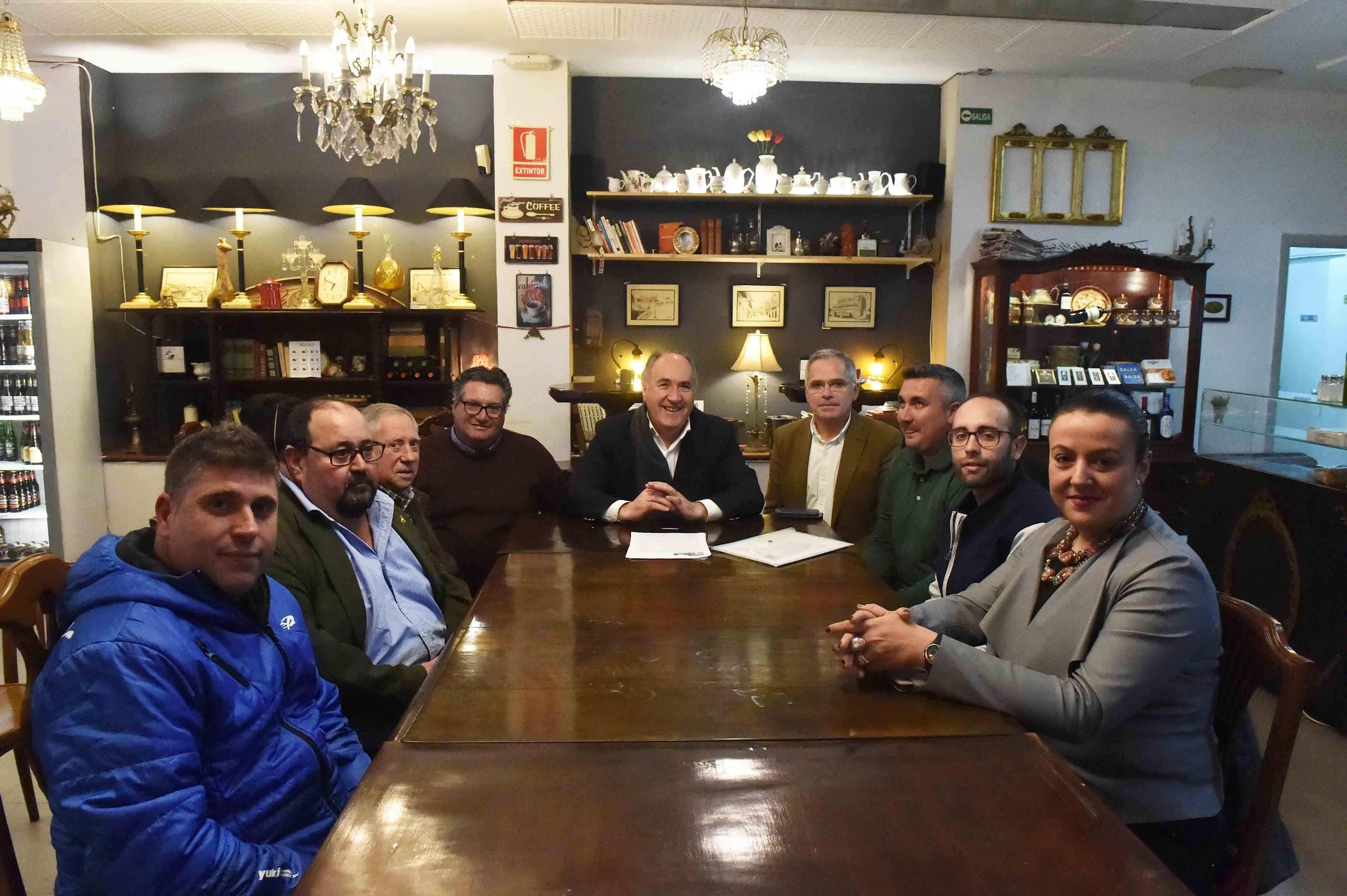 Reunión con la Asociación en Defensa de la Pesca Deportiva Algecireña